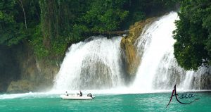 indonesia-yacht-charter-sanggala-waterfall-2