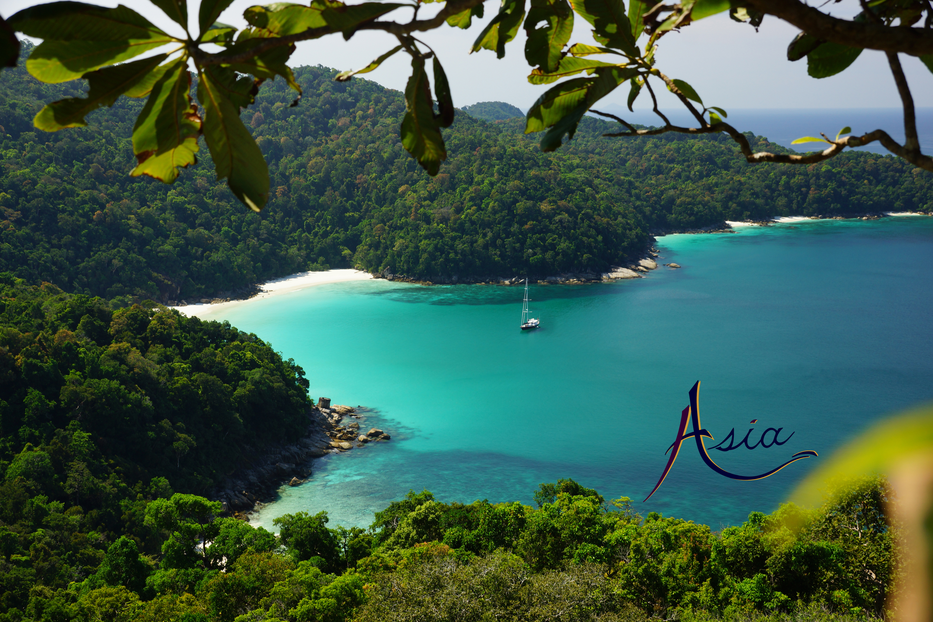 Spectacular anchorage in Burma's Mergui Archipelago