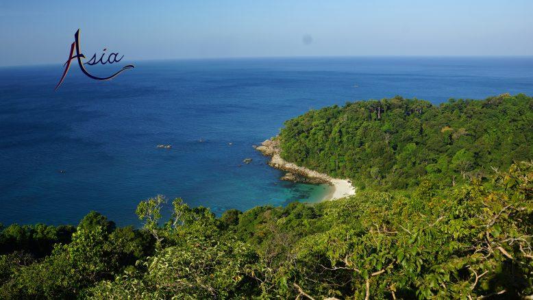 Fabulous beaches. Mergui Archipelago Yacht Charter in Burma.