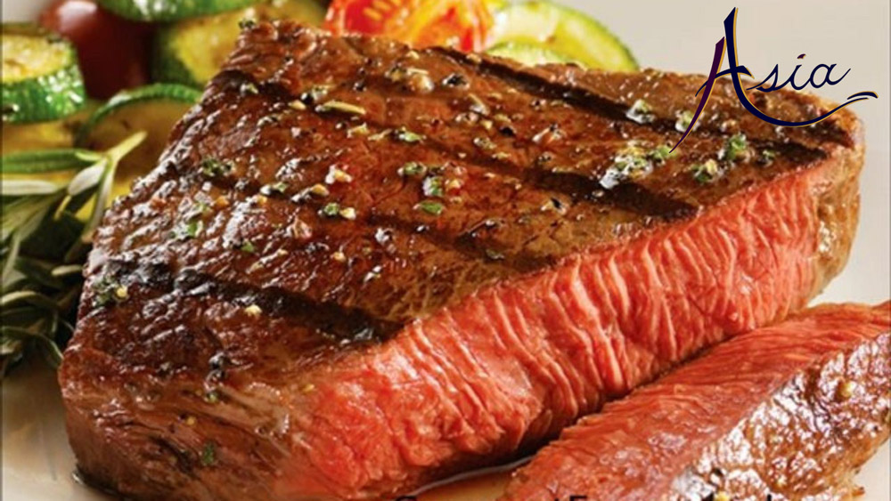 Asia yacht charter - best quality imported New Zealand steak