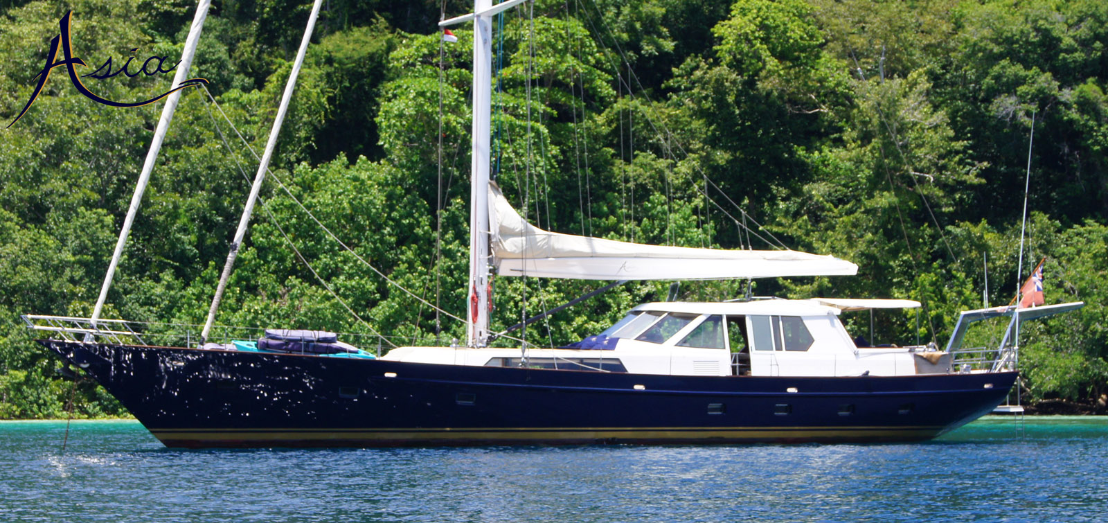 Luxury yacht charters in South East Asia
