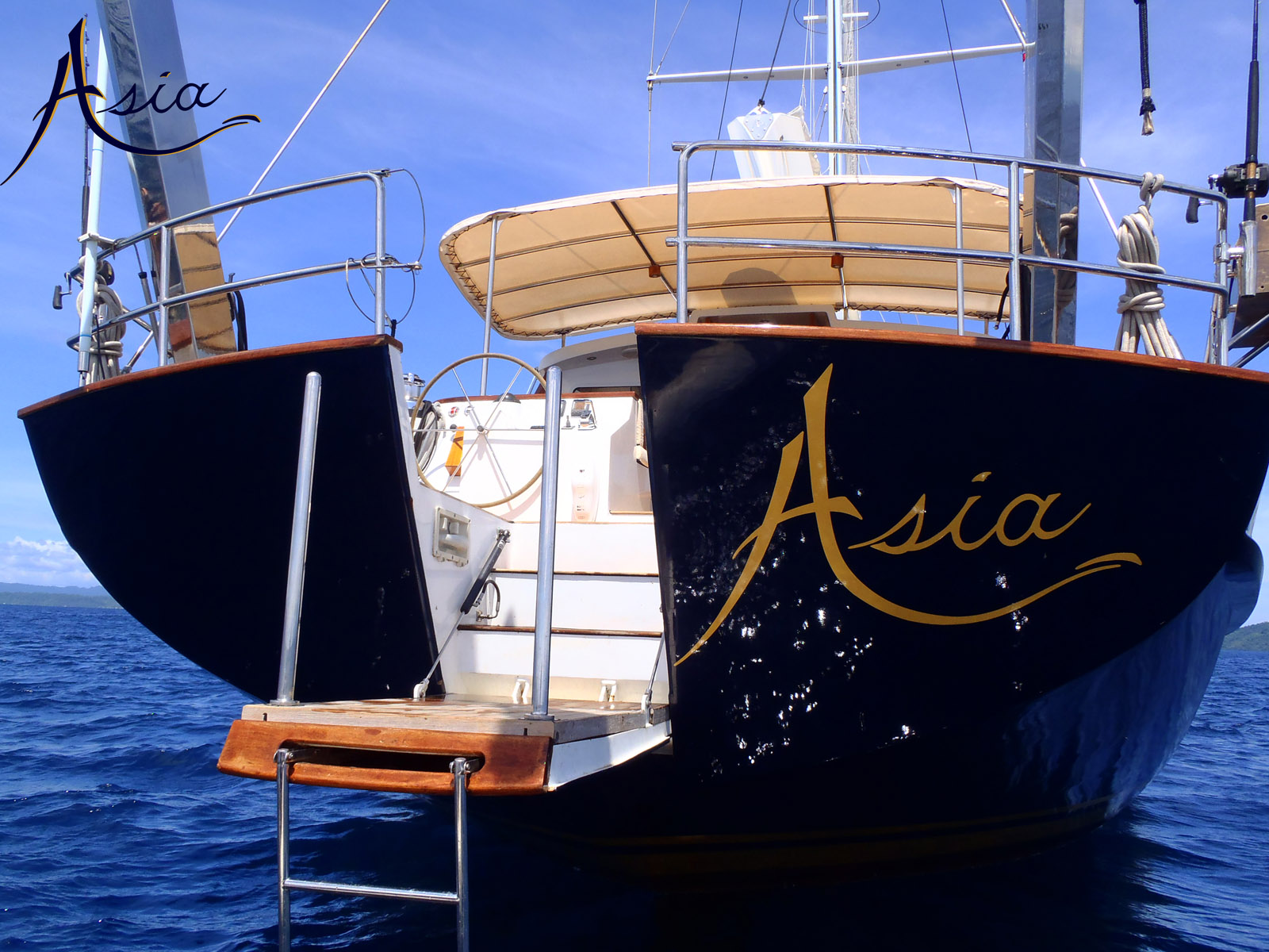 Magnificent luxury charters with sailing yacht ASIA